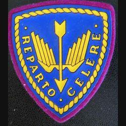 Insigne tissu de la police italienne Reparto Celere