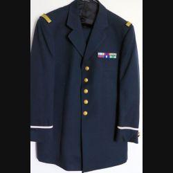 Tenue bleue de soirée d'adjudant de la Légion comprenant veste et pantalon (C175)