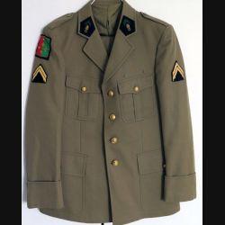Tenue jaspée de sergent de la Légion étrangère comprenant veste et pantalon (C175)