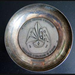 2° REI : Coupelle métallique de la CEA du 2° régiment étranger d'infanterie (C178)
