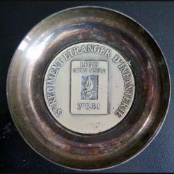 3° REI : Coupelle métallique du 3° régiment étranger d'infanterie (C178)