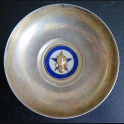 4° REI : Coupelle métallique de la compagnie régimentaire du 4° régiment étranger d'infanterie (C178)