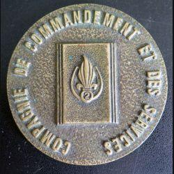 2° REI : médaille de la compagnie de commandement et des services du 2° REI (C176)