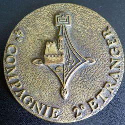 2° REI : médaille de la 4° compagnie du 2° régiment étranger d'infanterie (C176)