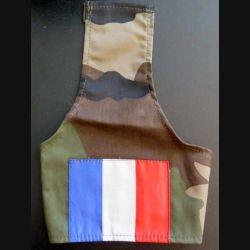 FRANCE : BRASSARD D'ÉPAULE FRANCE sur tissu camouflé