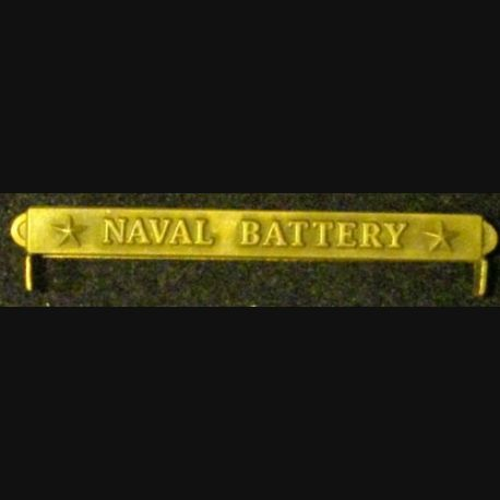 BARRETTE US : NAVAL BATTERY
