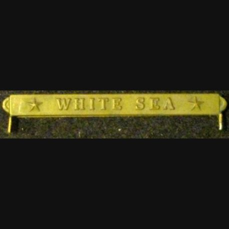 BARRETTE VICTORY MEDAL US ARMY & NAVY :  WHITE SEA