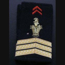 Fourreau de sergent chef féminin du génie (vendu par paire) (C178)