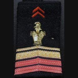 Fourreau de caporal chef féminin du génie (vendu par paire) (C178)