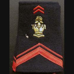 Fourreau de soldat de 1° Classe du génie (vendu par paire) (C178)