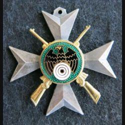 ALLEMAGNE :  médaille de tireur élite translucide