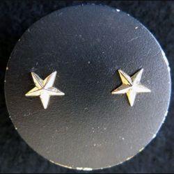 COMMISSARIAT : Insigne de béret Commissaire Général de brigade 2 étoiles dorées