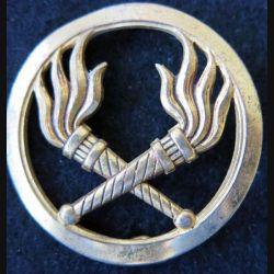 INSIGNE DE BERET SEA : Insigne de béret du Service des Essences de fabrication Drago Paris