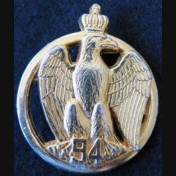 INSIGNE DE BÉRET 94° RI : insigne de béret du 94° régiment d'infanterie de fabrication Delsart
