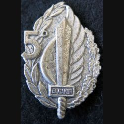ITALIE : insigne métallique du 5° Battaglione Paracadutisti El Alamein