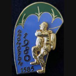 PROMO ETAP 1980 1585 : insigne métallique de la promotion de l'école des troupes aéroportées 1980 1585 Delsart n° 300