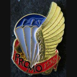 PROMO ETAP 1980 1592 : insigne métallique de la promotion de l'école des troupes aéroportées 1980 1592 Delsart n° 203