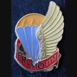 PROMO ETAP 1980 1597 : insigne métallique de la promotion de l'école des troupes aéroportées 1980 1597 Delsart n° 143