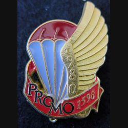 PROMO ETAP 1980 1598 : insigne métallique de la promotion de l'école des troupes aéroportées 1980 1598 Delsart n° 115