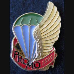 PROMO ETAP 1980 1599 : insigne métallique de la promotion de l'école des troupes aéroportées 1980 1599 Delsart n° 246