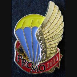 PROMO ETAP 1980 1600 : insigne métallique de la promotion de l'école des troupes aéroportées 1980 1600 Delsart n° 288