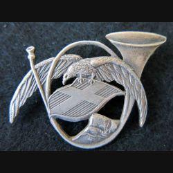 93° BCA : insigne métallique du 93° bataillon de chasseurs alpins A. Augis Lyon
