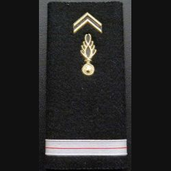 Fourreau d'adjudant  de gendarmerie cartonné plastique (vendu par paire) (C178)