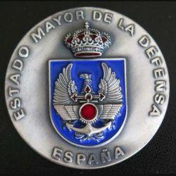 ESPAGNE : médaille de l'Estado mayor de la Defensa Espana