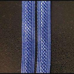 GALON bleu gendarmerie de brigadier de longueur 0,5 mètre x 1,7 cm de largeur (C178)