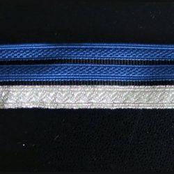GALON bleu gendarmerie de brigadier chef de longueur 0,5 mètre x 2,5 cm de largeur (C178)