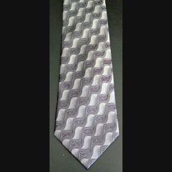 Cravate en soie dominante grise (C176)