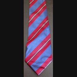 Cravate Tanguy Felix Faure Paris 100 % soie à dominante bordeaux et bleu (C176)