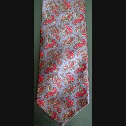 Cravate Viva 100 % soie à dominante foncée (C176)