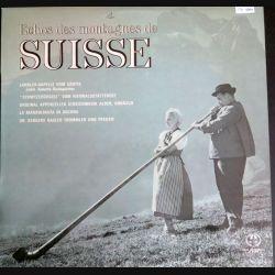 DISQUE 33 T : Echos des Montagnes de Suisse (C180)
