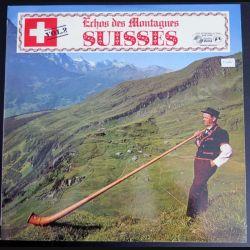 DISQUE 33 T :Echos des Montagnes Suisses (C180)