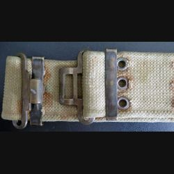 CEINTURON MODÈLE WW2 US 36 avec une boucle de type anglais  dans son jus (C180)