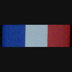 FRANCE : RUBAN MÉDAILLE POUR ACTES DE COURAGE ET DÉVOUEMENT