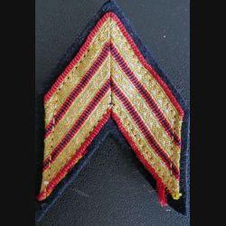Galon de sergent chef d'infanterie avec crochets arrière