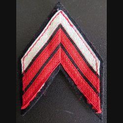 Galon de caporal chef PDL du train avec crochets arrière