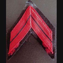 Galon de caporal d'infanterie ou TDM PDL avec crochets arrière
