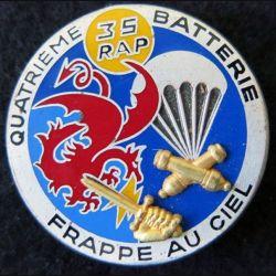 35° RAP : 4° batterie 35° régiment d'artillerie parachutiste frappe au ciel de fabrication Drago
