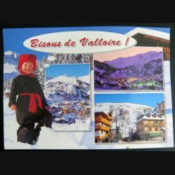 Carte postale Bisous de Valloire