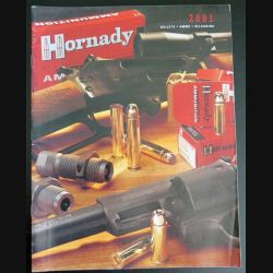 Catalogue Hornady 2001 Bullets Ammo Reloading  (C177)