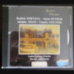 DISQUE CD Romance classique SMETANA DVORAK ADAM GOUNOD London symphony orchestra C177)
