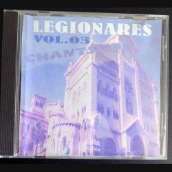 DISQUE CD Legionares Chants de la légion étrangère Volume 3  (C177)
