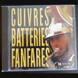 DISQUE CD Cuivres Batteries Fanfares Musique de l'Air, Saint Louis Invalides & 43° RI (C177)