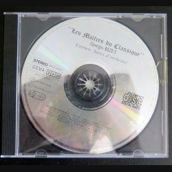 DISQUE CD Les Maîtres du Classique Georges Bizet Carmen Suites d'Orchestre (C177)