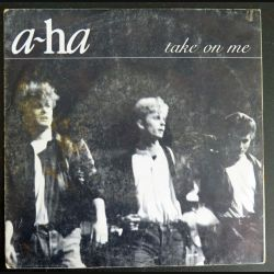DISQUE 45 TOURS : A-HA take on me & love is reason (C177)