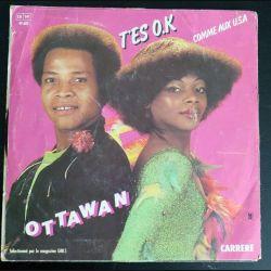 DISQUE 45 TOURS : T'es OK comme aux USA de Ottawan (C177)