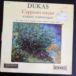 DISQUE 45 TOURS : L'apprenti sorcier de Dukas (C177)